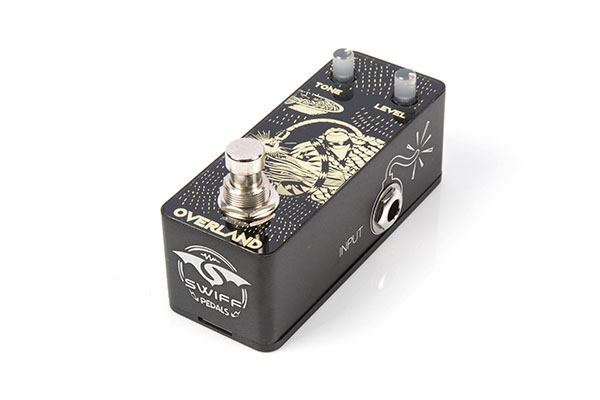 SWIFF AP07 OVERLAND Cable Free Pedal(OVERDRIVE)
