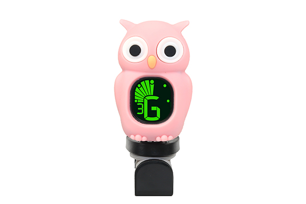 B7 Clip-on Cartoon Owl Tuner