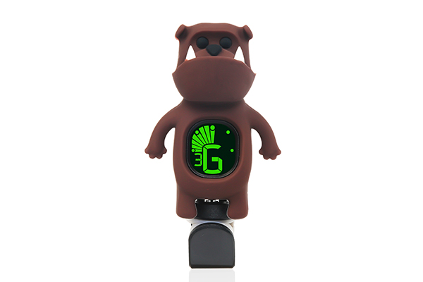 B71 Clip-on Cartoon Bulldog Tuner