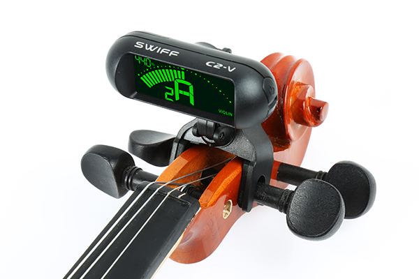 C2-V Tuner clip special for violin Two 360°...